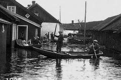 Flommen på Ulefoss 1927