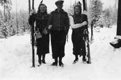 Førkrigsskitur på Heia