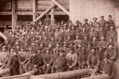 Gruvemannskap ved Fensgruvene 1901-02