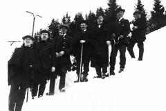 Hoppfunksjonærer i Håtveitlia på 1920-tallet