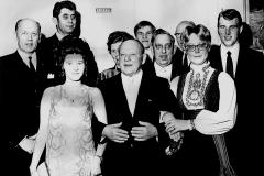 Holla Sparebanks ansatte ca. 1967