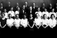 Holla Ungdomsforenings kor 1925