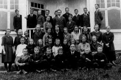 Holla middelskole 1922
