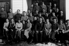 Holla middelskole 1937