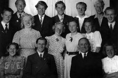 Holla realskole 1944-45