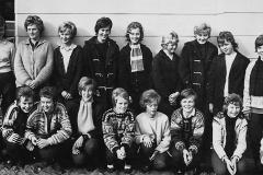 Holla realskole 1.kl. 1962 - jenter