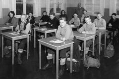 Holla Realskole 2. kl. 1957