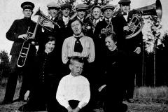 Hornmusikken i Frelsesarméen på Ulefoss