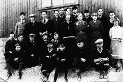 Middelskolen på Ulefoss omkring 1933