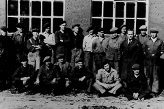 Monteringsgrupper ved Ulefos Jernværk 1948