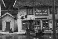 På Lanna under flommen i 1927