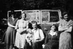 På tur i Landsmarka 1946