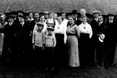 Sangkoret Samhold på Heisholt Vestre i 1912