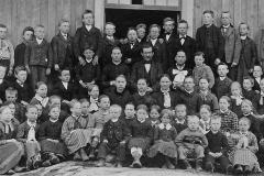 Sannes skole 1882