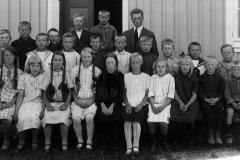Sannes skole ca. 1926