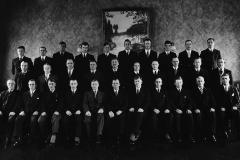 Sliperiforeningen ved Aall-Ulefos ca. 1950