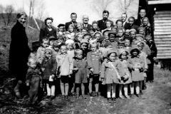 Søndagsskolen på Filadelfia høsten 1947