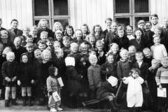 Søndagsskolen på Odden bedehus i 1944