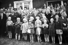 St. Hans på Juliussens hytte ved Stavsjø 1945
