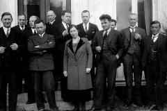 Telemark landbruksskule ved eksamen 1935