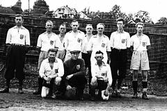 USFs fotballlag på slutten av 1930-tallet