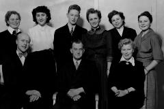 Ulefoss Forbruksforening ansatte 1953