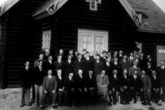 Ulefoss bedehus ved innvielsen 16. juni 1935