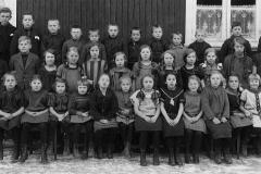 Ulefoss sagbruks skole ca. 1925