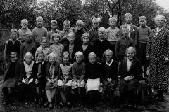 Ulefoss skole 2. og 4. kl. 1937