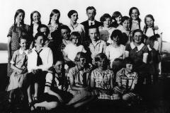 Ulefoss skole - Syskolefest 1928-29