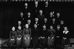Ulefoss skole omkring 1892