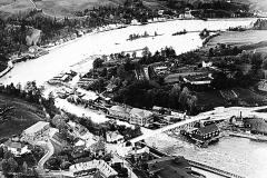 Ulefossen med omliggende herligheter i 1930-åra