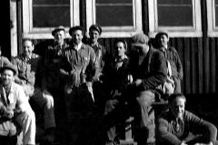 Ved dørfabrikken 1949