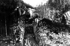 Vrangfoss sluser bygges 1887-92