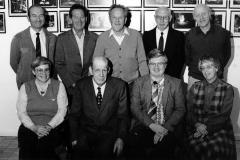 Styret i Holla Historielag i 1986