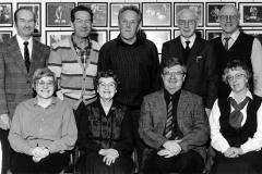 Styret i Holla Historielag i 1987