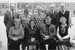 Styret i Holla Historielag i 1988