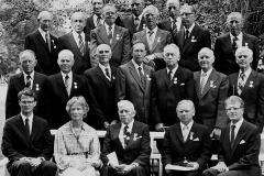 Jubilanter ved SD Cappelen ved 325 års-jubileet i 1982