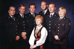 Nome lensmannskontor på 1980-tallet