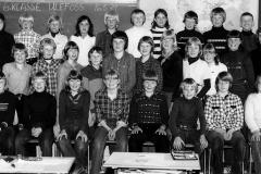 Ulefoss skole 6. kl. 1979