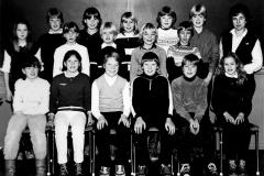 Ulefoss skole 6. kl. 1983