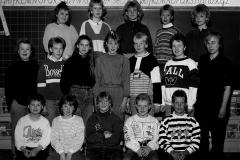 Ulefoss skole klasse 6A 1989