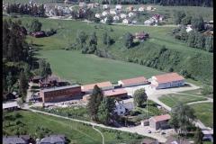 Holla ungdomsskole mot Haugjordet