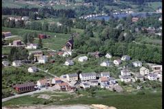 Widerøe Flyveselskaps flyfoto fra Holla kommune
